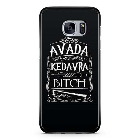 Harry Potter Avada Kedavra Bitch Samsung Galaxy S7 Case Cover ISVA026