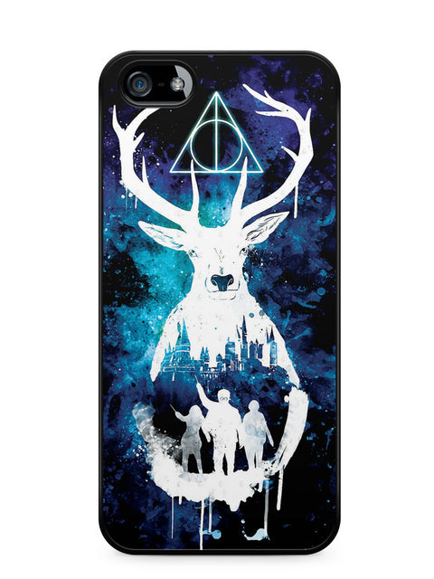 Harry Potter Hogwarts Watercolor Apple iPhone SE / iPhone 5 / iPhone 5s Case Cover  ISVA463