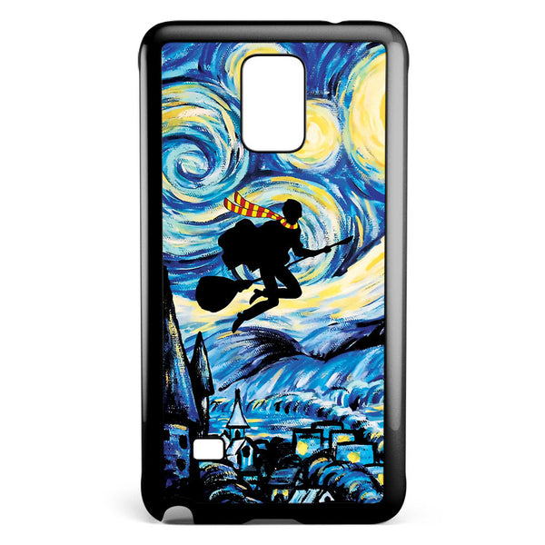 Harry Potter Starry Night Samsung Galaxy Note 4 Case Cover ISVA247