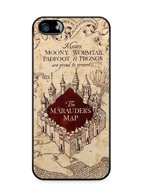Harry Potter the Marauder's Map Apple iPhone SE / iPhone 5 / iPhone 5s Case Cover  ISVA130