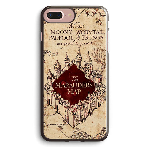 Harry Potter the Marauder's Map Apple iPhone 7 Plus Case Cover ISVA130