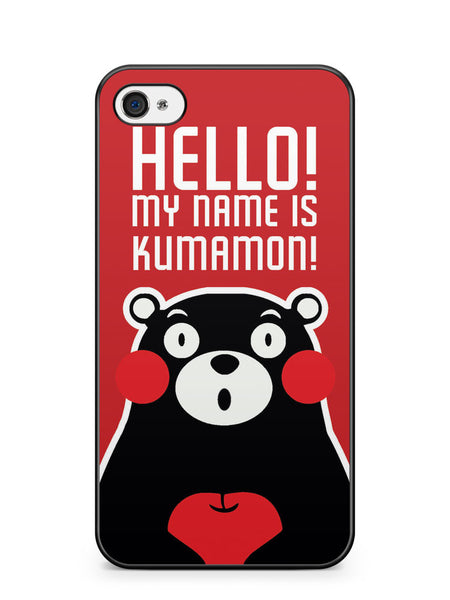 Hello! My Name is Kumamon! Apple iPhone 4 / iPhone 4S Case Cover ISVA488