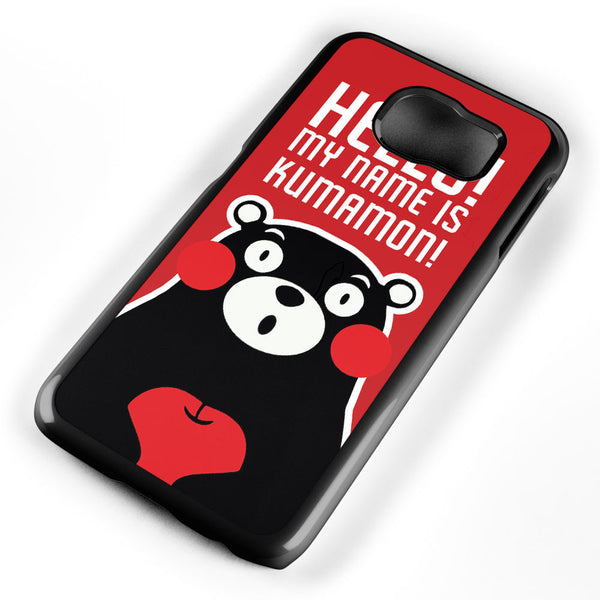 Hello! My Name is Kumamon! Samsung Galaxy S6 Case Cover ISVA488