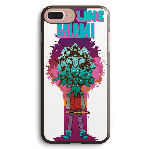 Hotline Miami the Caracters Apple iPhone 7 Plus Case Cover ISVC814