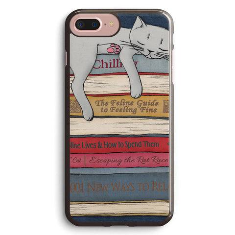 How to Chill Like a Cat Apple iPhone 7 Plus Case Cover ISVC815