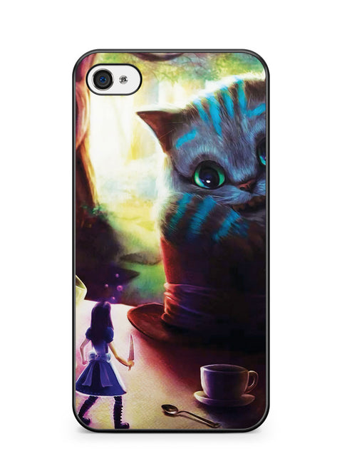 I Love Cheshire the Cat Apple iPhone 4 / iPhone 4S Case Cover ISVA504