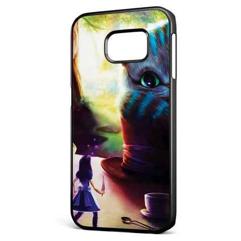 I Love Cheshire the Cat Samsung Galaxy S6 Edge Case Cover ISVA504