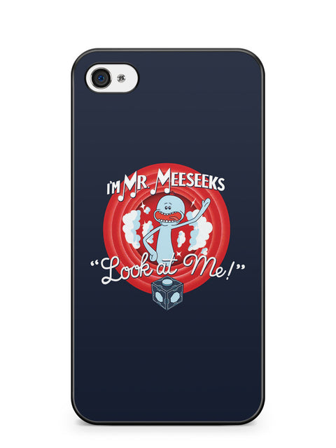 I'm Mr Meeseeks Look at Me Apple iPhone 4 / iPhone 4S Case Cover ISVA267