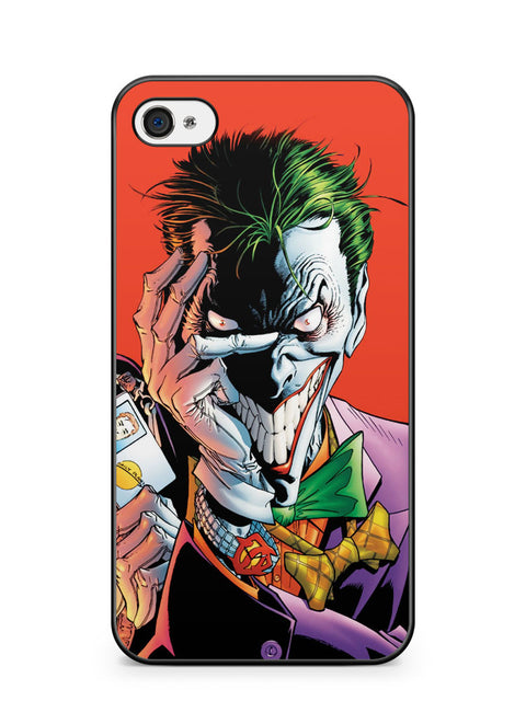 Iconic Joker Imagery the Dark Knight Apple iPhone 4 / iPhone 4S Case Cover ISVA358