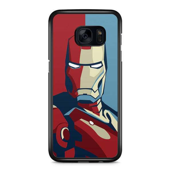 Iron Man for Election Samsung Galaxy S7 Edge Case Cover ISVA250