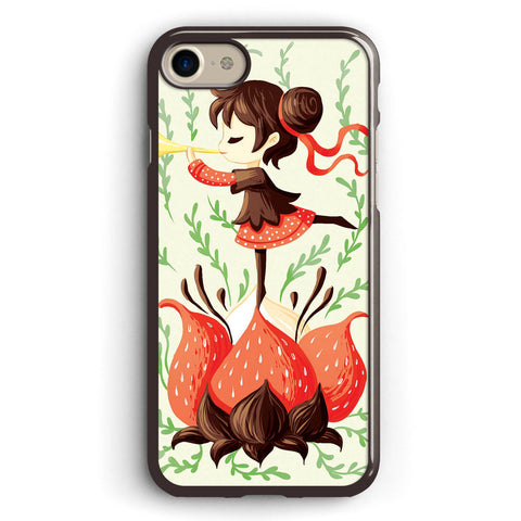 Japanese Art Spring Melody Apple iPhone 7 Case Cover ISVA540