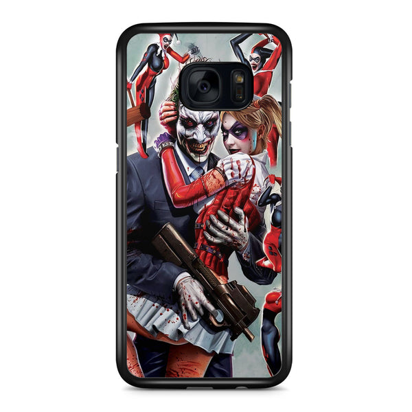 Joker and Harley Quinn Customes Samsung Galaxy S7 Edge Case Cover ISVA144