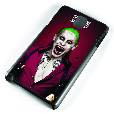 Joker Suicide Squad Poster Samsung Galaxy Note 3 Case Cover ISVA143