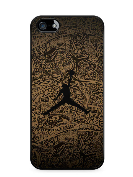 Jordan Flying Air Man Apple iPhone SE / iPhone 5 / iPhone 5s Case Cover  ISVA593