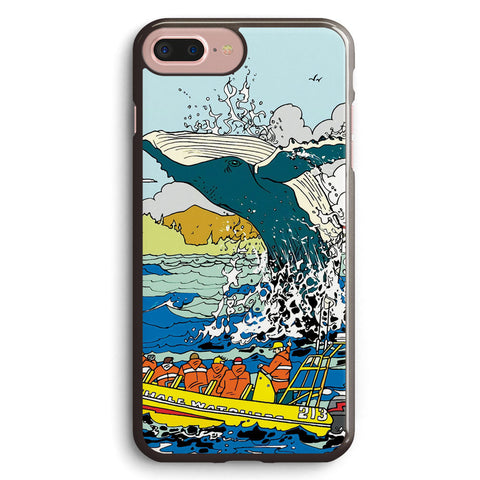 Jumping Whale Art Apple iPhone 7 Plus Case Cover ISVH460