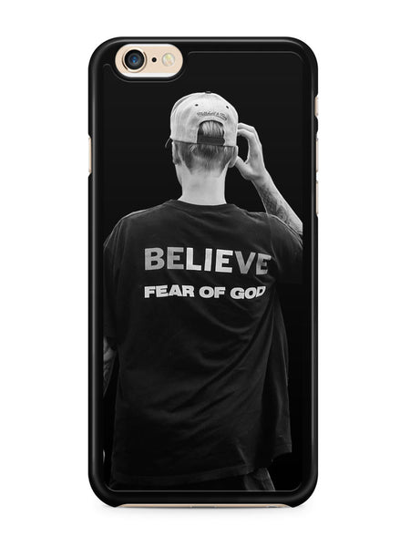 Justin Bieber Believe Fear of God Apple iPhone 6 / iPhone 6s Case Cover ISVA124