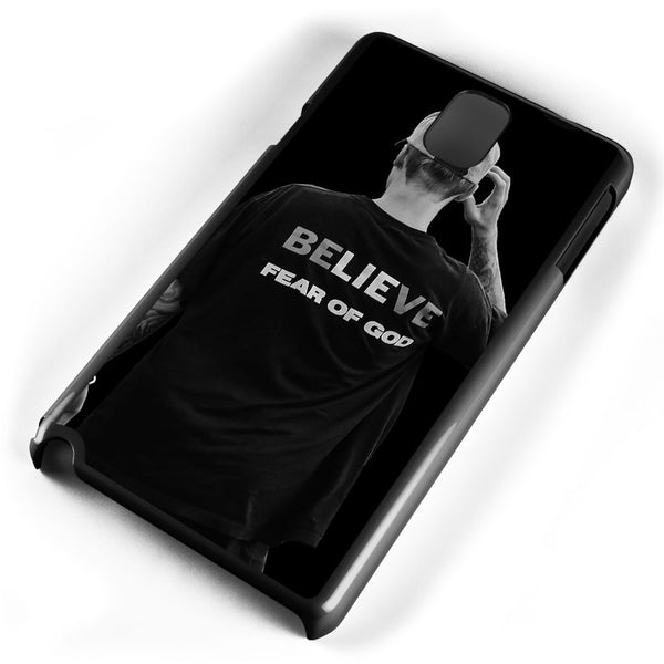 Justin Bieber Believe Fear of God Samsung Galaxy Note 3 Case Cover ISVA124