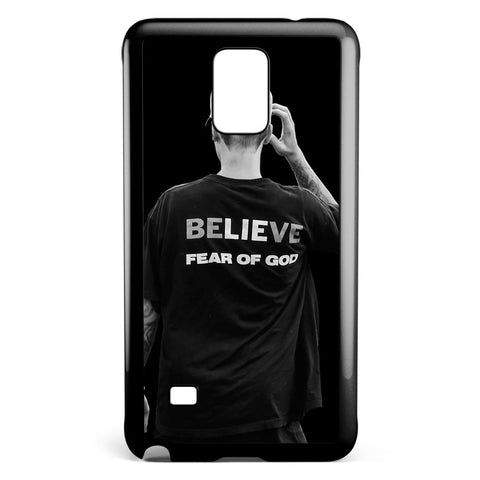 Justin Bieber Believe Fear of God Samsung Galaxy Note 4 Case Cover ISVA124