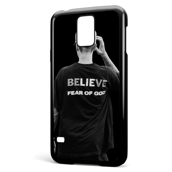 Justin Bieber Believe Fear of God Samsung Galaxy S5 Case Cover ISVA124