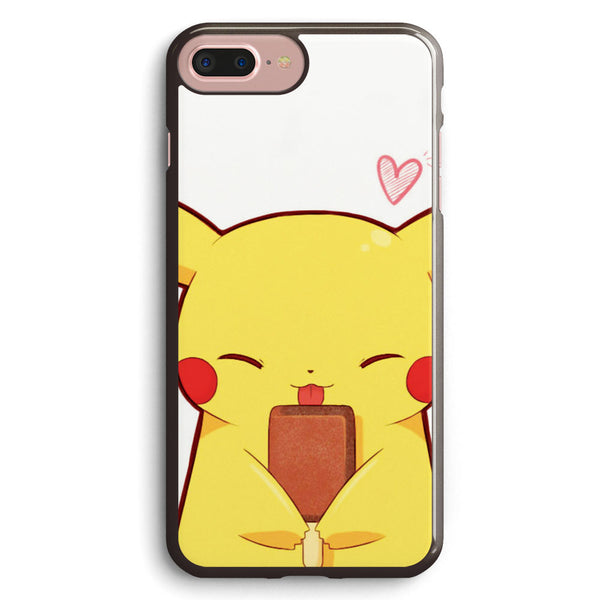 Kawaii Pikachu Apple iPhone 7 Plus Case Cover ISVB011