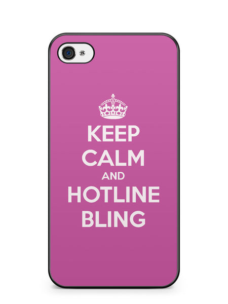 Keep Calm and Hotline Blings Apple iPhone 4 / iPhone 4S Case Cover ISVA061