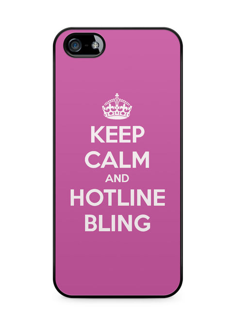 Keep Calm and Hotline Blings Apple iPhone 5c Case Cover ISVA061
