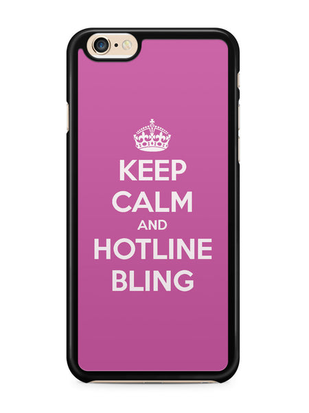 Keep Calm and Hotline Blings Apple iPhone 6 / iPhone 6s Case Cover ISVA061