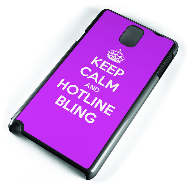 Keep Calm and Hotline Blings Samsung Galaxy Note 3 Case Cover ISVA061