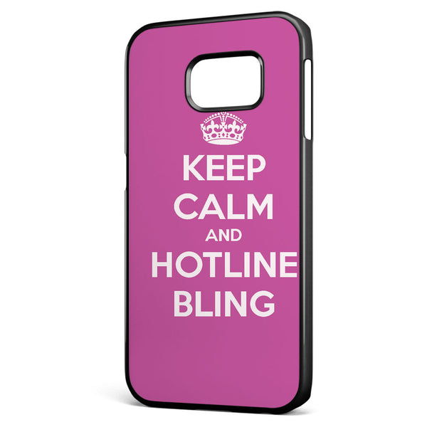 Keep Calm and Hotline Blings Samsung Galaxy S6 Edge Case Cover ISVA061