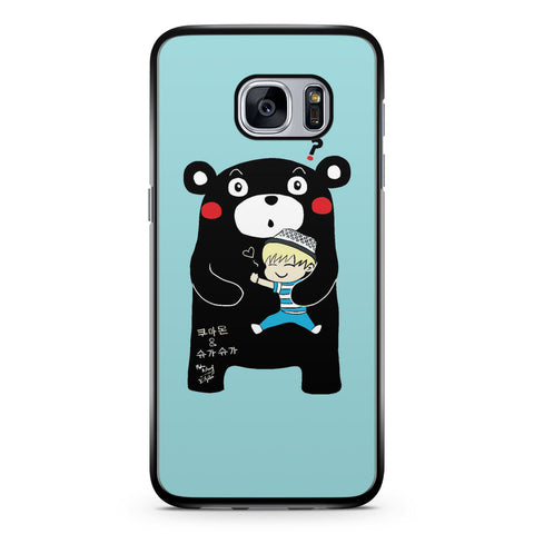 Kumamon and Suga Samsung Galaxy S7 Case Cover ISVA489