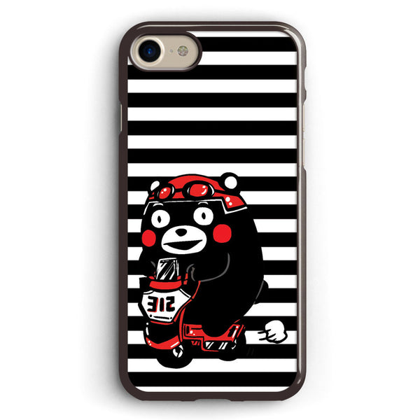 Kumamon Riding Motorcycle Apple iPhone 7 Case Cover ISVA485