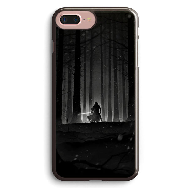Kylo Ren Black and White Apple iPhone 7 Plus Case Cover ISVF204