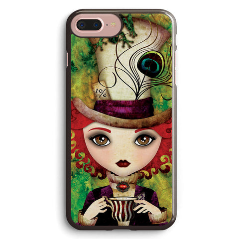 Lady Hatter Apple iPhone 7 Plus Case Cover ISVC239