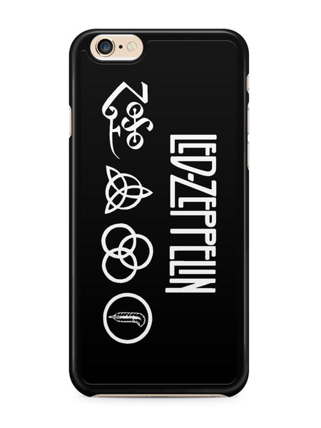 Led Zeppelin Band Logo Apple iPhone 6 / iPhone 6s Case Cover ISVA372