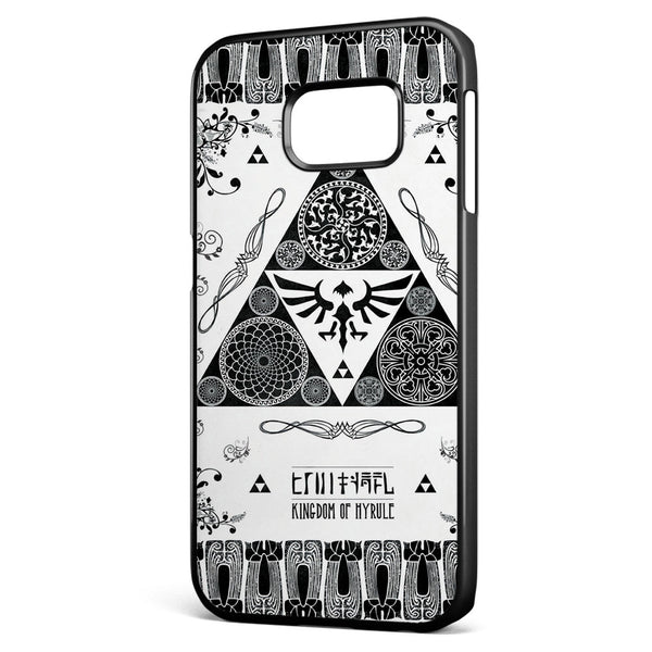 Legend of Zelda Geek Art Series Samsung Galaxy S6 Edge Case Cover ISVA151