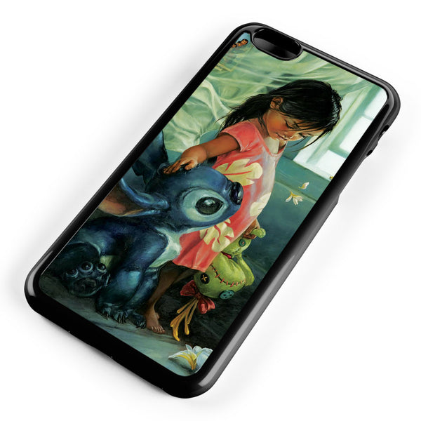 Lilo and Stitch Art Apple iPhone 6 Plus / iPhone 6s Plus ISVA240