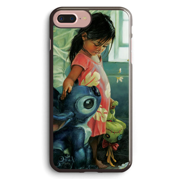 Lilo and Stitch Art Apple iPhone 7 Plus Case Cover ISVA240