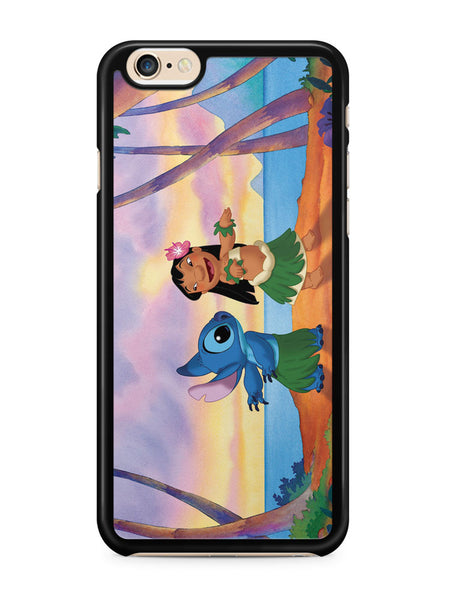 Lilo and Stitch Hawaii Apple iPhone 6 / iPhone 6s Case Cover ISVA315
