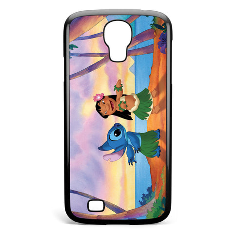 Lilo and Stitch Hawaii Samsung Galaxy S4 Case Cover ISVA315
