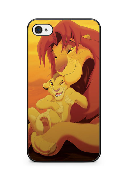 Lion King Simba and Kopa Apple iPhone 4 / iPhone 4S Case Cover ISVA068