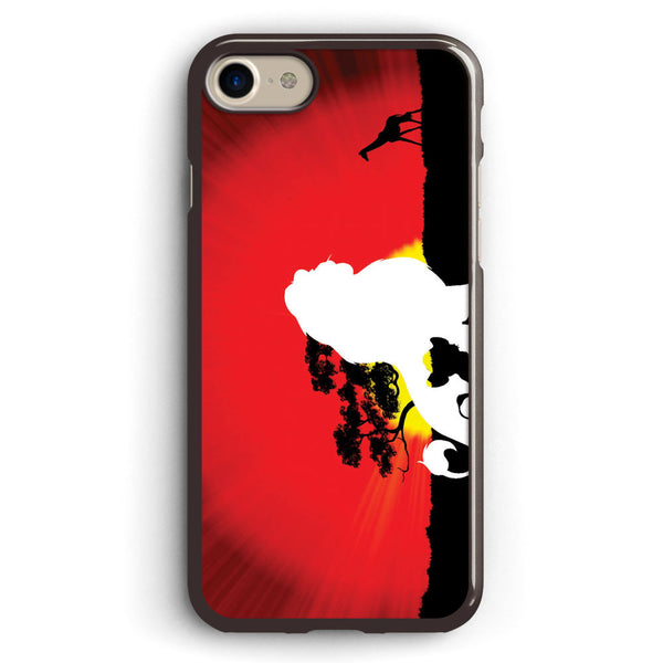 Lion King Simba Silhouette Apple iPhone 7 Case Cover ISVA066