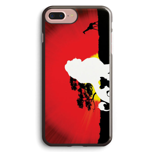 Lion King Simba Silhouette Apple iPhone 7 Plus Case Cover ISVA066