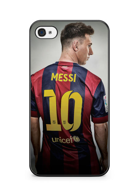 Lionel Messi Barcelona Apple iPhone 4 / iPhone 4S Case Cover ISVA075