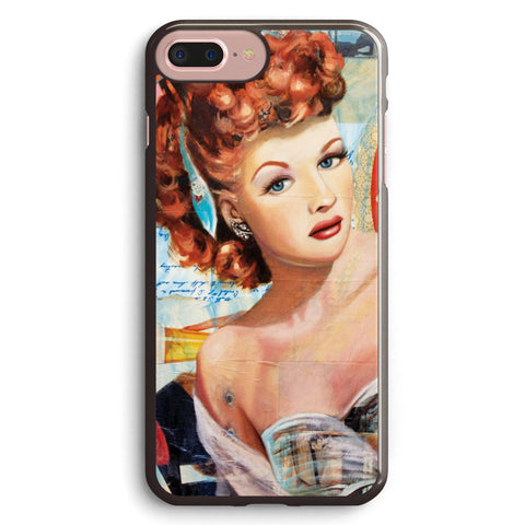 Lovely  lucille Ball Apple iPhone 7 Plus Case Cover ISVB042