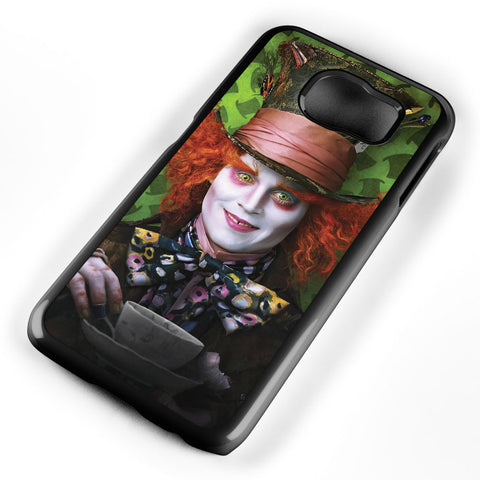Mad Hatter Alice in Wonderland Samsung Galaxy S6 Case Cover ISVA445