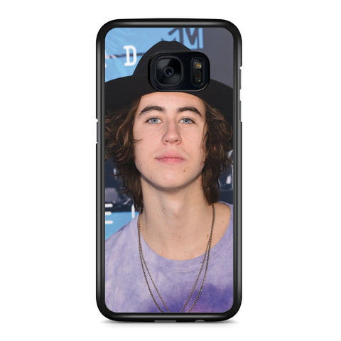 Magcon Boys Nash Grier Samsung Galaxy S7 Edge Case Cover ISVA586