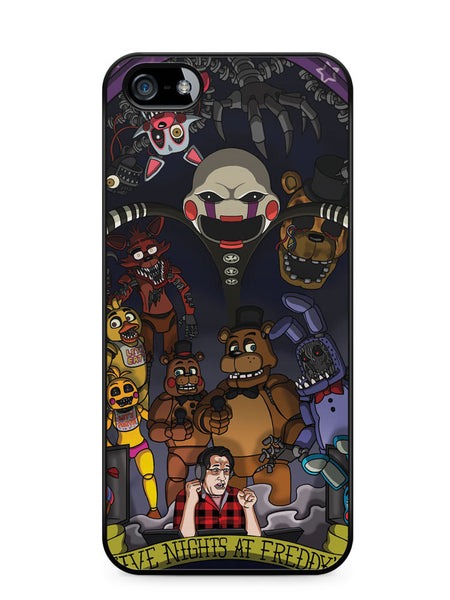 Markiplier Five Nights at Freddy's Apple iPhone SE / iPhone 5 / iPhone 5s Case Cover  ISVA319