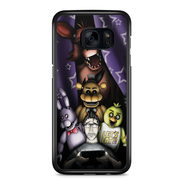Markiplier is the Savior of Five Nights at Freddys Samsung Galaxy S7 Edge Case Cover ISVA318