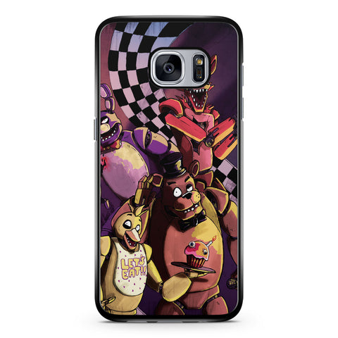Markiplier, Five Nights at Freddy's and Fnaf Samsung Galaxy S7 Case Cover ISVA317
