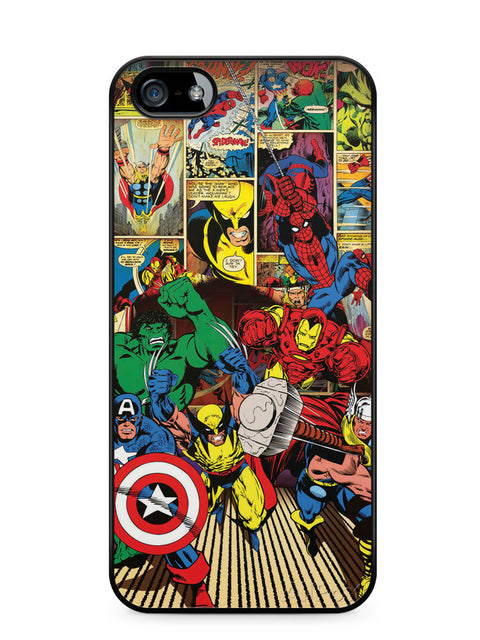 Marvel's Heroes Apple iPhone SE / iPhone 5 / iPhone 5s Case Cover  ISVA137
